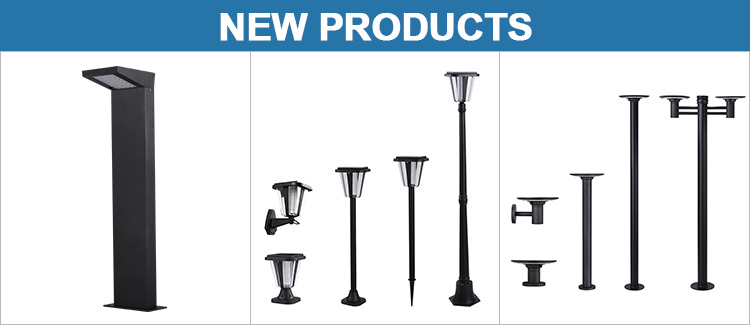 Professional Aluminum Housing Outdoor Waterproof IP65 10W 20W 30W 40W Solar Led Street Lights