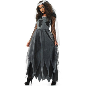 M-XL Europe and America ladies female devil costume vampire bride sexy womens halloween costume cosplay