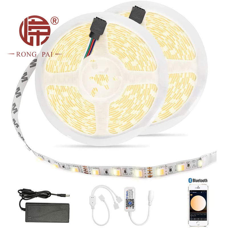 Waterpoof 12v 24v 5050 RGB Smart Wifi Bluetooth APP Controlled LED Strip Light