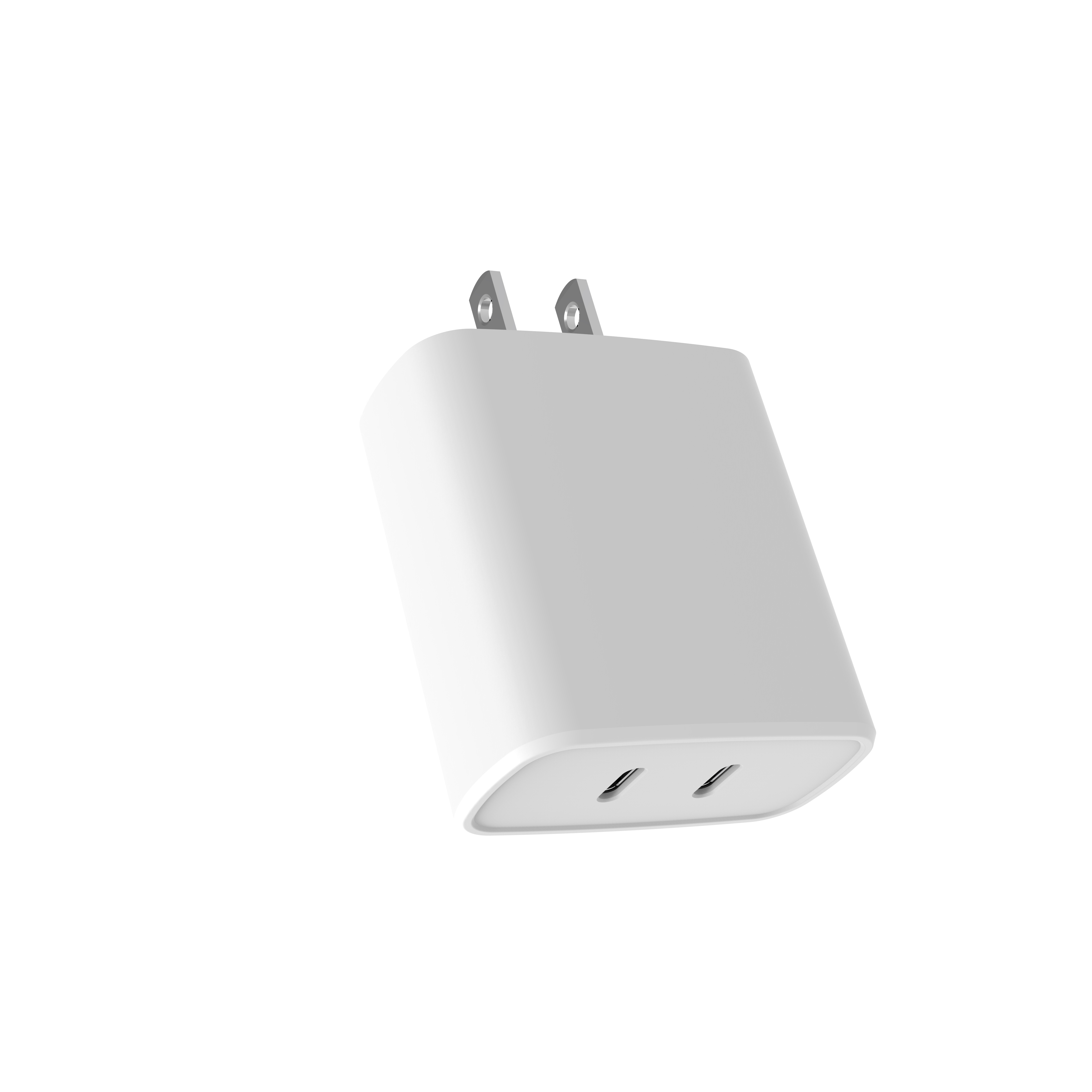 OEM Dual Port Super Cepat Charger Dinding Tipe-C 36W PD Fast Charger USB Type C Adaptor