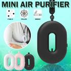 2020 New Negative Ion Mini Neck Personal Travel Wearable Air Cleaner Ionizer Purifiers Small Portable Necklace Air Purifier