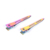 DIY Hair Clips 55mm  Modish Flat Metal Single Prong Alligator Hair Clips, Bows Rainbow Color Hairpins for Hair Styling Tool