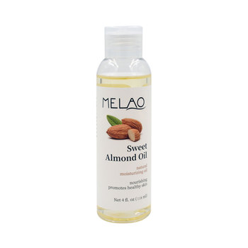 Wholesaler 118ml Anti-Wrinkles Anti-Aging Natural Carrier Sweet Almond Oil For Hair Skin Care