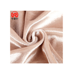 Delivery fast fashion super soft 100% polyester fleece burn out velvet fabric for sofa cover