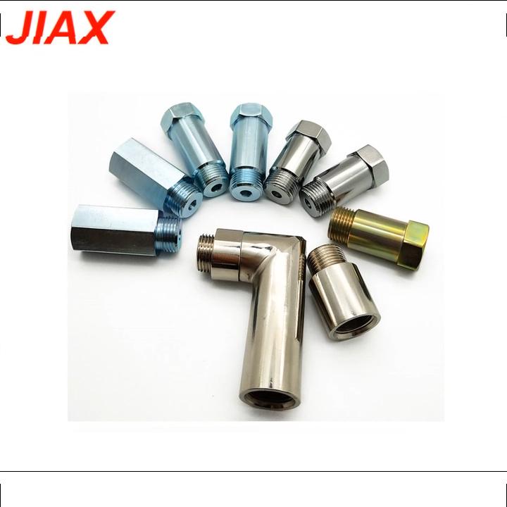 Black 10'' 1/2-28 Car Auto Parts Aluminum Single Core Fuel Trap Solvent Filter Kit für NAPA 4003 WIX 24003