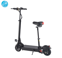 Foldable two wheel lithium battery electric scooter adult with seat