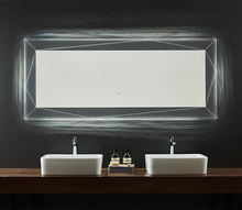 Backlit zacht licht hotel led <span class=keywords><strong>spiegel</strong></span> fogless rechthoekige badkamer led <span class=keywords><strong>spiegel</strong></span>