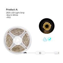 Зеркальный светильник для макияжа Tocador con espejo, USB, 5 В, туалетный столик, Светодиодная лента, 220 В, косметический зеркальный светильник Tocador ...(Китай)