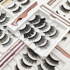 Eyelashes Wholesale Private Label Lashes 3d Magnetic Eyelashes With Eyeliner