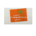 Eco-Friendly Label Clothing Satin Wholesale Garment Woven Label /tag/customized Clothing Embroidery Logo/satin /silk Printing