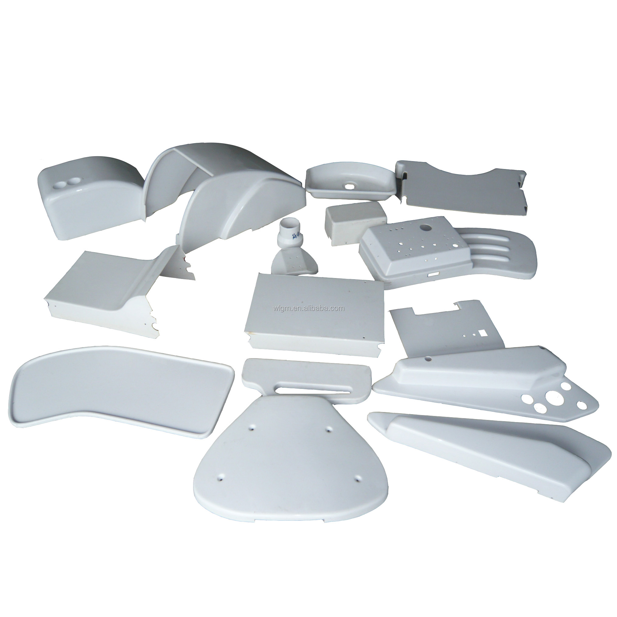 vacuum forming process custom medical equipment thermoforming plastic products medical beds parts ningbo yuyao manufacturer