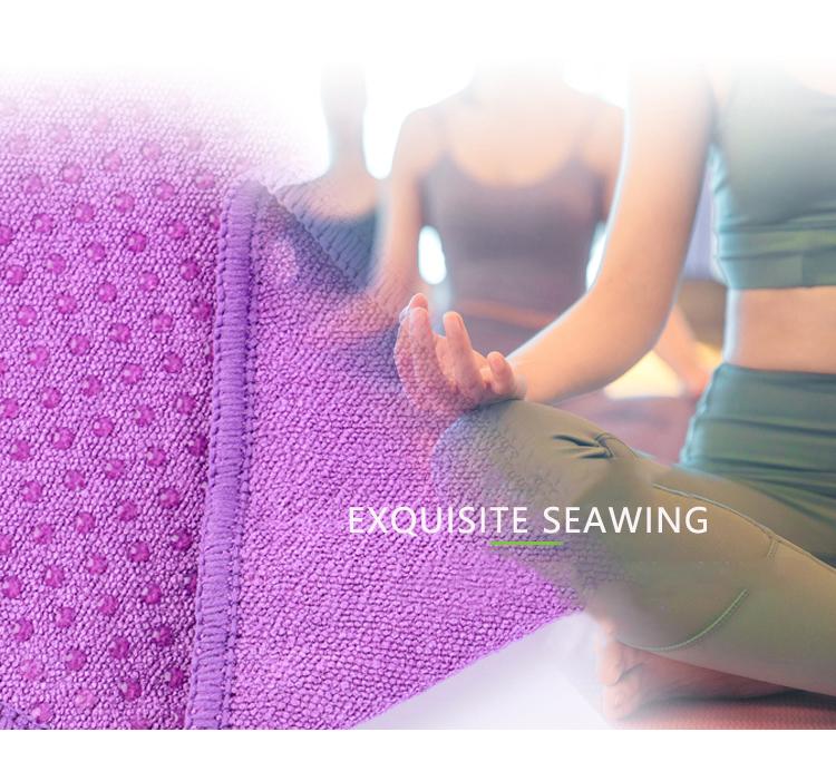 Микрофибра нескользящее полотенце для йоги Мути-спортивные сумки для девочек из мягкой ткани; Лидер продаж; По индивидуальному заказу