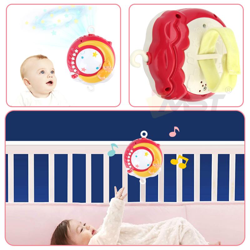 MST новый цвет музыкальная проекция коробка висячая погремушка кронштейн держатель детская кровать колокольчик детские мобильные игрушки для младенцев