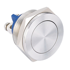 ONPOW 16mm waterproof push button switch metal switch (CE, ROHS)
