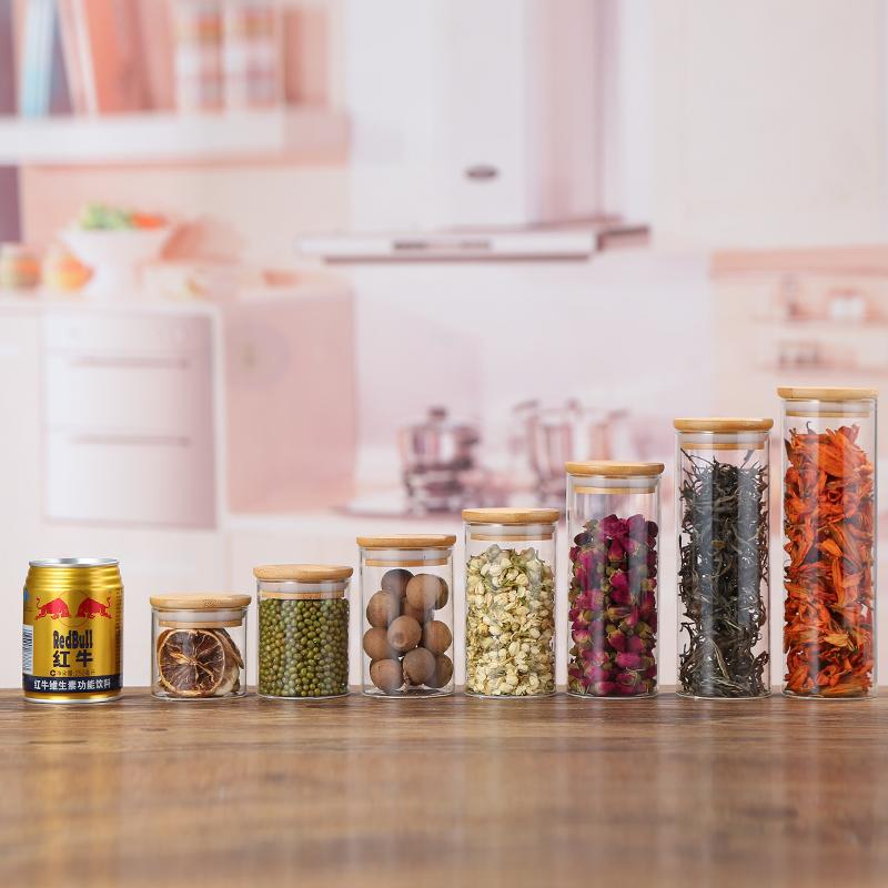 Best Buy Round Honey Glass Jars Containers Spice Jar Rack Storage Bottles Jars