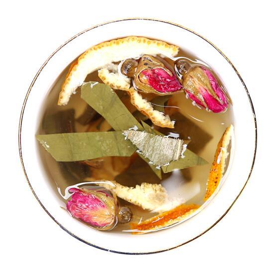 Handmade traditional lotus leaf rose tea herbal tea - 4uTea | 4uTea.com