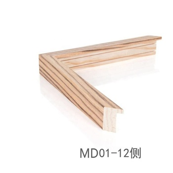 Bulk Canvas Empty Wall Decoration Soild Wooden Art Frames For Oil Painting Buy Mdf Wood Frame Moulding With Wood Texture Face Paper Small Thickness