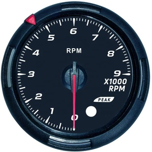 60mm Tachometer 0-9000RPM With 64 Backlights Tach Gauge For Racing Car 12V