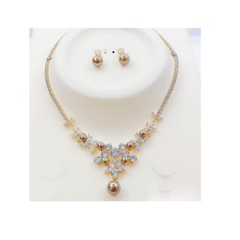 1016 set xuping jewelry hot pearl set for women