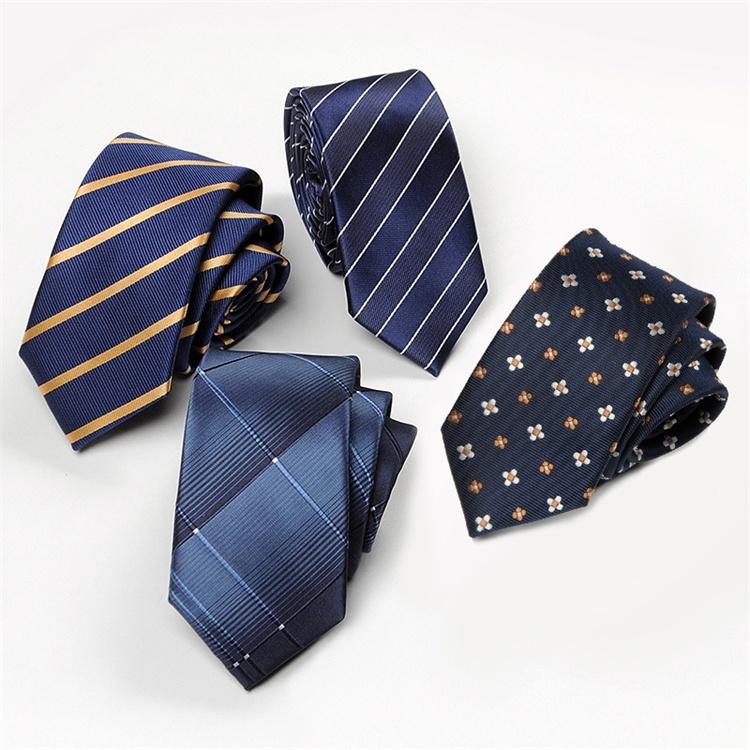 Custom Woven Business And Leisure Men's Ties 100% Silk Neck Tie
