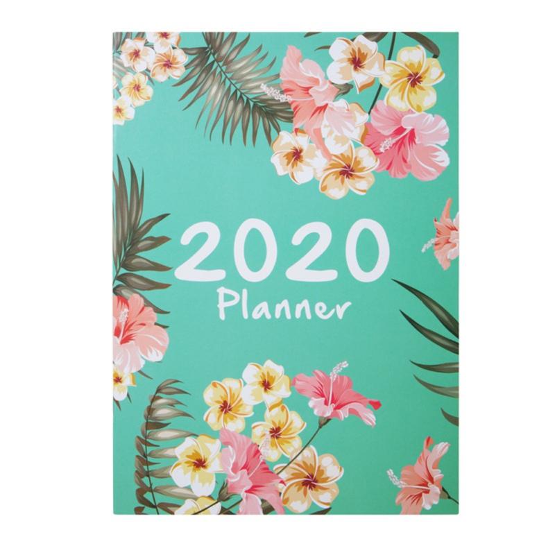 2020 планировщик Органайзер A4 Блокнот Журнал Kawaii ежемесячный недельный график записная книжка DIY 365 дней план записная книжка(Китай)
