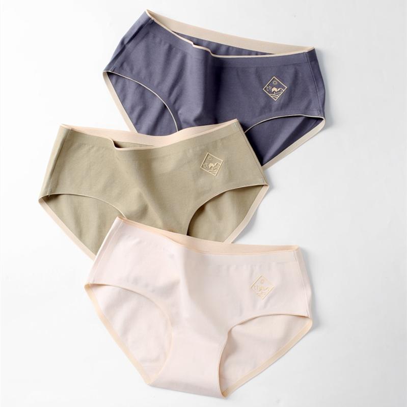Manufacturers wholesale women sexy ladies seamless underwear invisible wearing female underwear