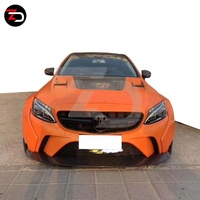 2015-2019 Top Style Wide Body Kit With Wide Fender For Mercedes C Class W205 C180 C220 C260