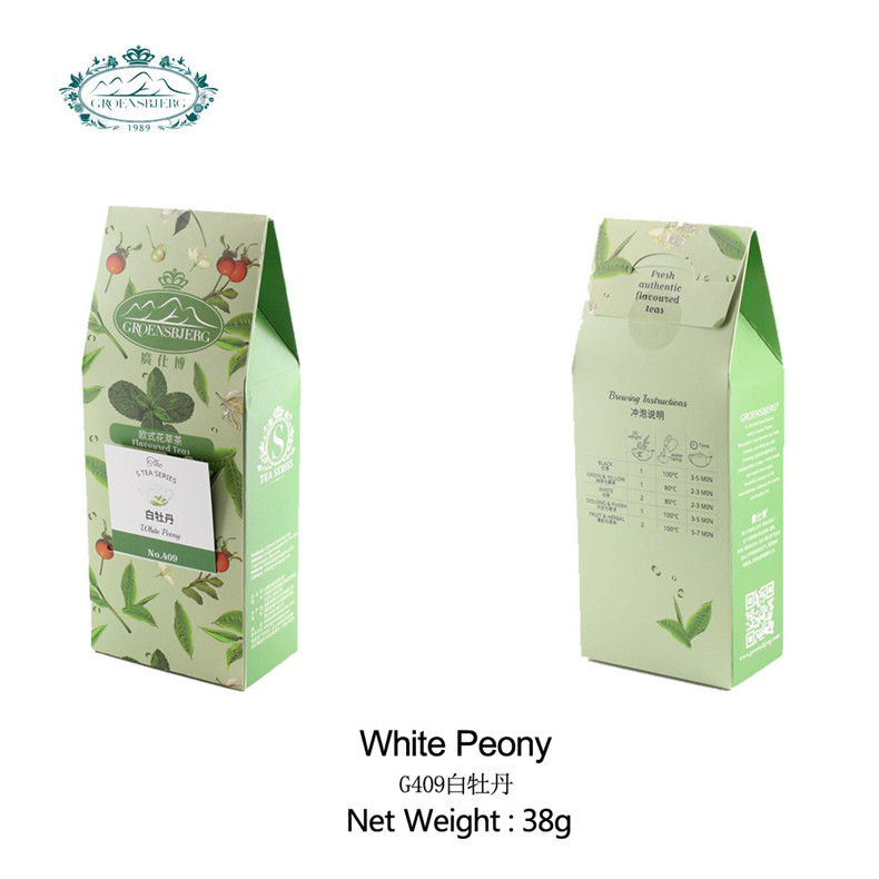 branded mild peony aroma a floral aroma pale green or golden color blended tea bag fresh authentic flavour - 4uTea | 4uTea.com