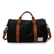 Bokinslon сумка для багажа на молнии, Мужская модная женская сумка для фитнеса, повседневная спортивная сумка для путешествий из Оксфорда, мужск...(Китай)