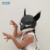 halloween mask fun Lynx mask of paper crafts can make people happy with claws for party or holiday