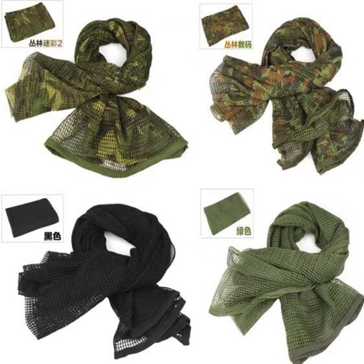 Outdoor Headband military Tactical Multi-function Digital Print Camouflage Scarf