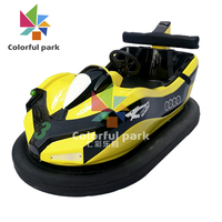 Colorful Park Bumper Car Coin Operated Super Racing Game Machine