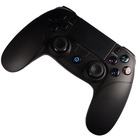 APEC NEW Hot Sale JRH-8951 Wireless BT Joystick Multi-axis Sensing Vibration Game Controller Support PS4/PS3/PC - Black