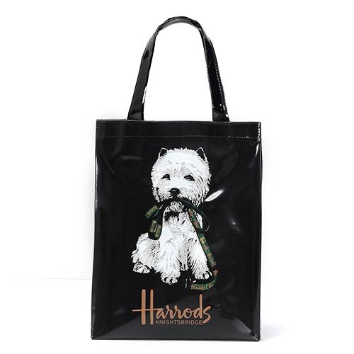 Лондонский стиль ПВХ многоразовая сумка для покупок женская сумка экологичный цветок сумка для покупок водонепроницаемая сумка для хранен...(Китай)