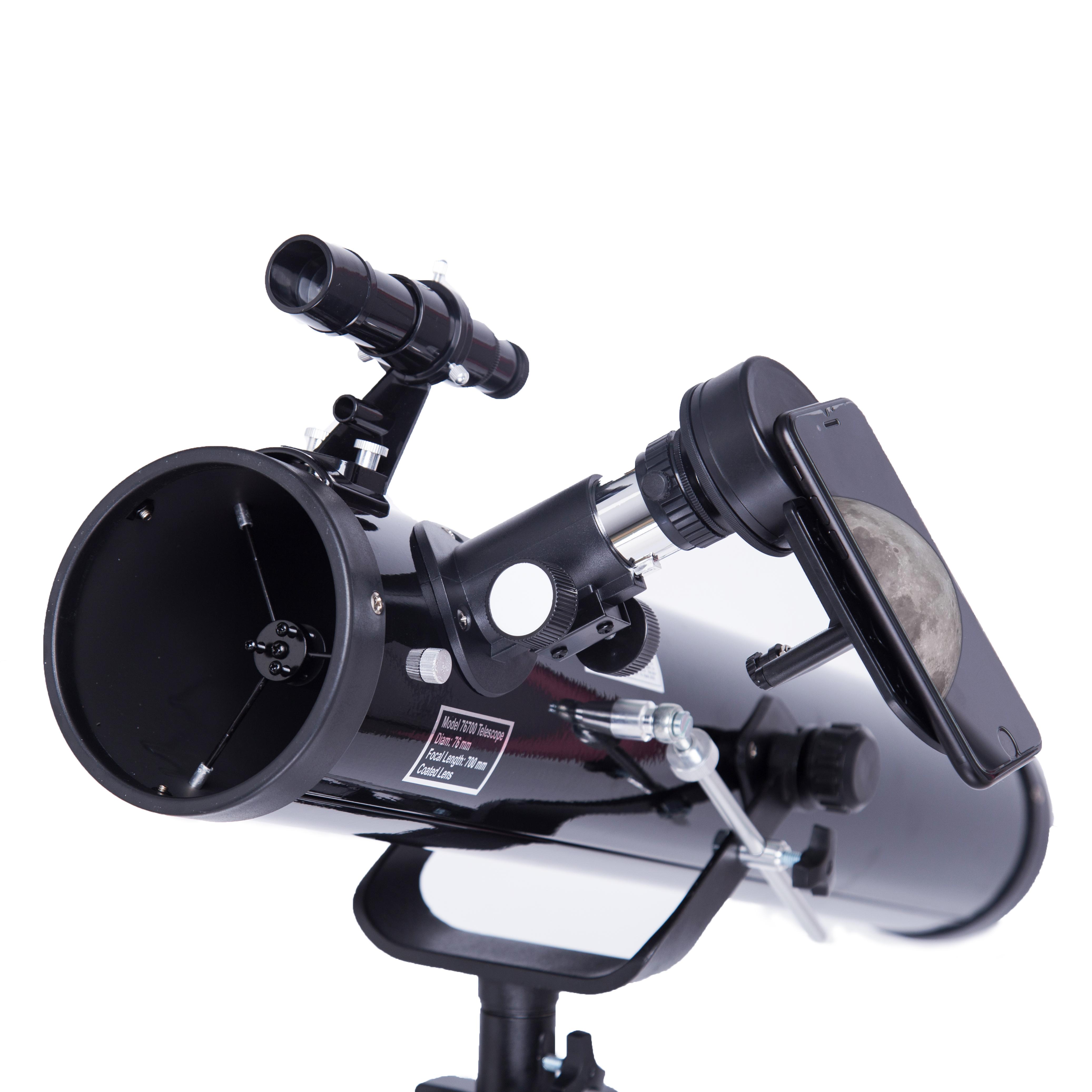 Voorzien Professionele Mobiele Telefoon Reflector Astronomische Telescoop/Telescopio Te Bekijken Maan En Plant