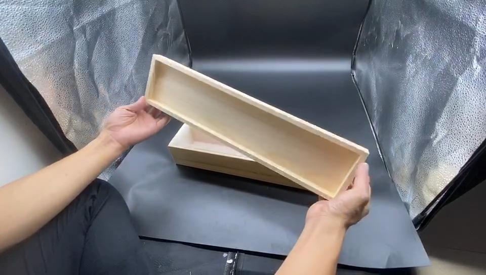 Большая форма для мыла из силикона с деревянной коробкой, гибкая Прямоугольная форма, высококачественные принадлежности для мыла ручной работы