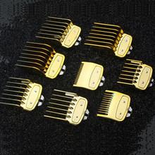 Набор прозрачных или золотых расчесок с коробкой, дополнительные 1,5/4,5 мм, набор инструментов для стрижки волос, ограниченное количество рас...(Китай)