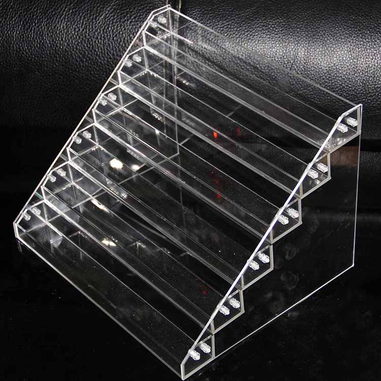 Wholesale bottle display stand high quality acrylic table display e liquid rack