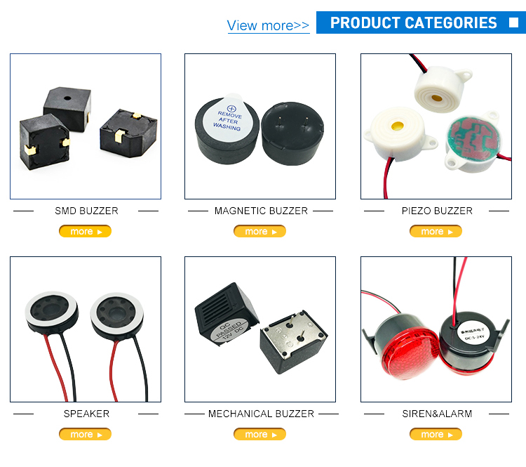 9.6*9.6*5MM SPL 85dB Stable Sound SMT Type Electo-magnetic Buzzer 12V DC Rated Voltage Buzzer FUET-9650B