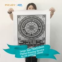 Professional high quality digital printing display posters