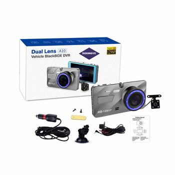 Best Selling 4'' Parking Mode Motion Detection Dual Dvr Black Box Video Camera Car