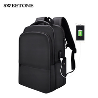 Laptop Backpack Business Computer Bags with USB Charging Port Waterproof Polyester School Bookbag for College Travel Backpack