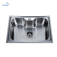 Aquacubic Classic Design Single-Bowl Moduled Kitchen Stainless Sink
