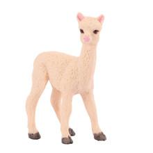 Милый имитация слоненка полярный медведь Альпака миниатюрная фигурка животного коллекция игрушек для детей подарок(Китай)