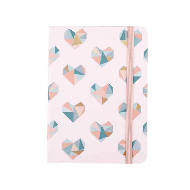 custom cute stationery Writing Plain Printed hardcover paper notebook with personalized logo