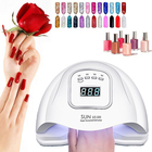 Gel Nail Automatic Sensor Gel Polish Curing Manicure 120W Led Nail Lamp Nail Dryer