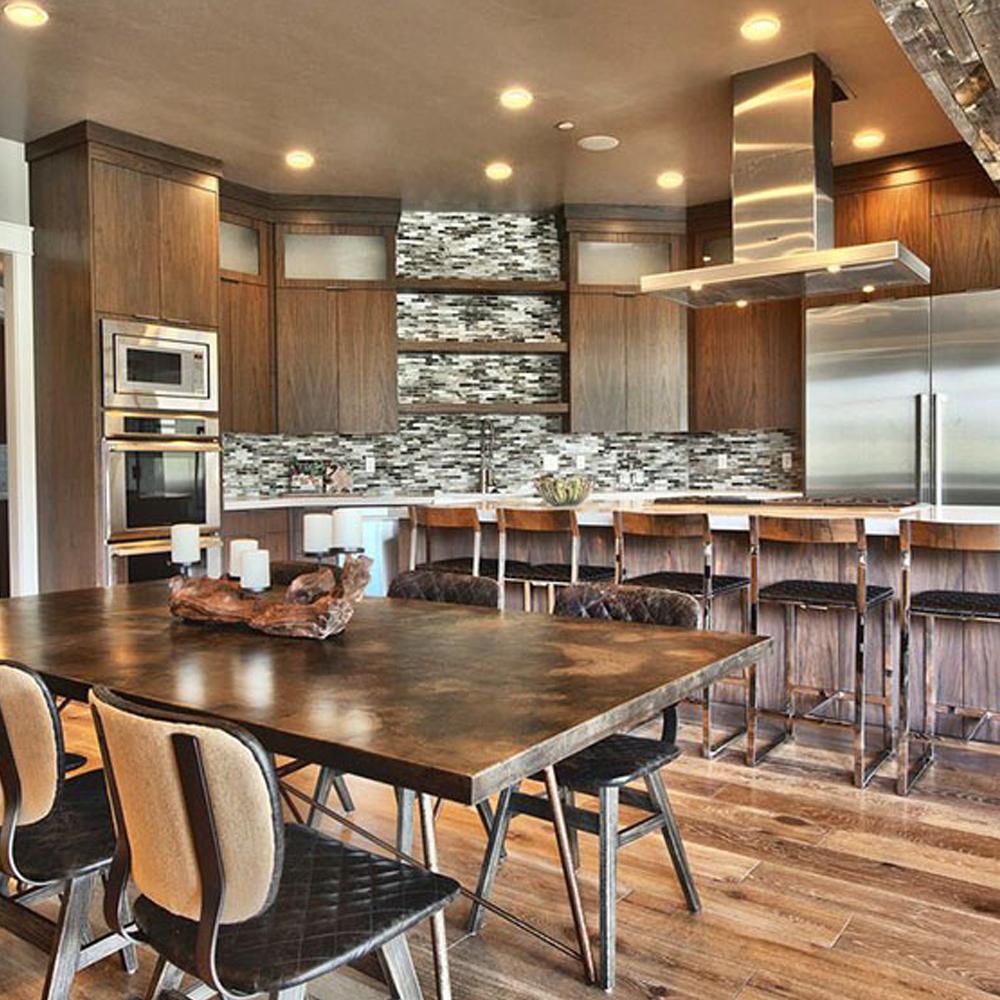 Adornus Solid Wood Luxury Furniture Kitchen Cabinet In ...