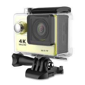 Customized Logo 4K/1080P wifi action camera underwater with Acrylic box