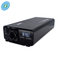 Mini 1000w 2000w 3000w 4000w pure sine wave portable car power inverter