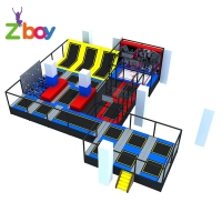 New Arrival Design Safety Foam Pit Cubes Blocks For Huge Foam Pit Indoor Trampoline Park Jumping